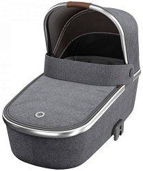 Сгъваем кош за новородено бебе - Oria: Luxe Grey Twillic -
