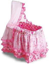 Люлеещо се легло за кукли - Princess -