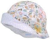 Детска двулицева шапка с UV защита -