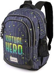Ученическа раница - Virtual Hero - раница
