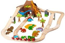 Влакова композиция - Динозаври -