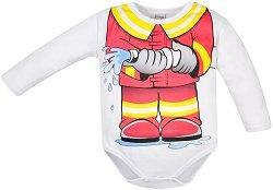 Бебешко боди - Пожарникар -
