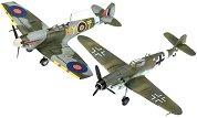 Самолети - Bf109G-10 & Spitfire Mk.V - макет