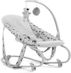 Бебешки шезлонг - Bouncer Deluxe: Nordic Grey -