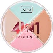 Wibo 4 in 1 Concealer Palette -