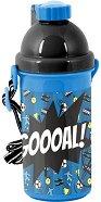Детска бутилка - Футбола топка 500 ml - раница