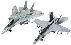 Изтребители - Top Gun Movies: MAVERICK'S F/A 18E SUPER HORNET и MAVERICK'S F-14D TOMCAT  -