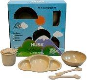 Детски комплект за хранене - Little People Husk