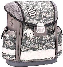 Ученическа раница - Camouflage Grey - раница