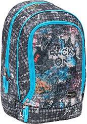 Ученическа раница - Rock On - раница
