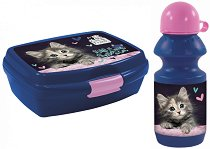Комплект бутилка и кутия за храна - Cleo & Frank - портмоне