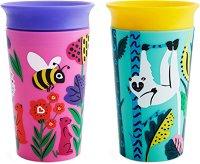 Неразливащи се преходни чаши - WildLove: Bee Lemur 266 ml -
