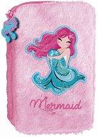 Плюшен ученически несесер - Mermaid -