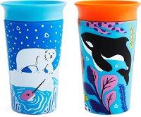 Неразливащи се преходни чаши - WildLove: Orca Polar 266 ml -