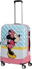 Пътнически куфар с колелца - Minnie Pink Kiss -