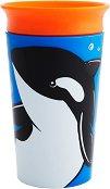 Неразливаща се преходна чаша - WildLove: Orca 266 ml -