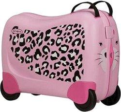 Детски куфар с колелца - Леопард -