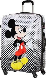 Пътнически куфар с колелца - Мики Маус -