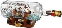 LEGO: Ideas - Кораб в бутилка - раница