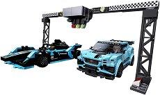 LEGO: Speed Champions - Jaguar Racing Gen 2 и Jaguar I-Pace eTrophy - играчка
