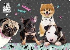 Двустранна подложка за бюро - Кученца