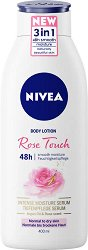 Nivea Rose Touch Body Lotion - душ гел