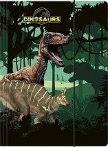 Папка с ластик - Динозаври