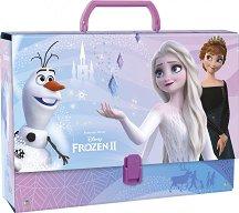 Кутия със закопчалка и дръжка - Анна и Елза