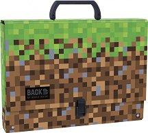 Кутия със закопчалка и дръжка - Pixels