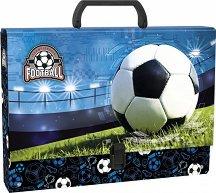 Кутия със закопчалка и дръжка - Футбол