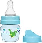 Стандартно бебешко шише за хранене - Bunny 30 ml -
