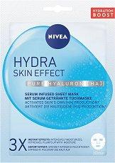 Nivea Hydra Skin Effect Pure Hyaluron Sheet Mask - гел