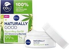 Nivea Naturally Good Organic Hemp Oil Day Care - крем