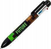 Химикалка с 6 цвята - Pixels