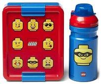 Комплект бутилка и кутия за храна - LEGO: Classic - играчка