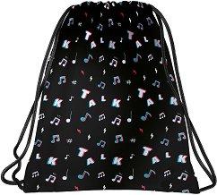 Спортна торба - Back Up: A 16 Music - детски аксесоар