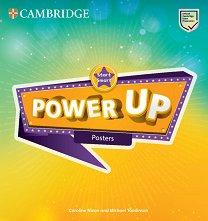 Power Up - Ниво Start Smart: Постери Учебна система по английски език -
