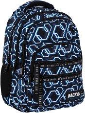 Ученическа раница - Back Up: M 53 Hexagons - раница