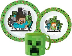 Чиния, купа и чаша - Minecraft -