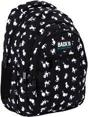 Ученическа раница - Back Up: O 34 Black Cats -