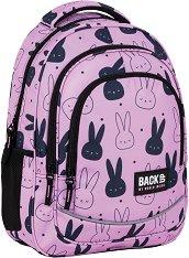 Ученическа раница - Back Up: X 35 Pink Rabbit - раница