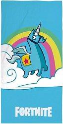 Детска плажна кърпа - Fortnite - несесер