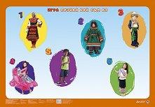 """Светът е на децата: Табло за настолна образователна игра """"Познай кой съм аз"""" -"""