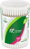 Normal Clinic Bamboo Cotton Buds - крем