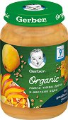 Nestle Gerber Organic - Био пюре от манго, тиква, дюля и овесени ядки -