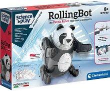 Робот - Търкаляща се панда -