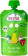 Fruchtbar - Био пюре с круши, краставици и спелта -