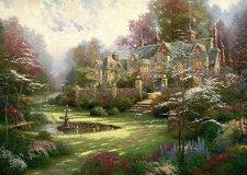 Градините отвъд портата - Томас Кинкейд (Thomas Kinkade) - пъзел