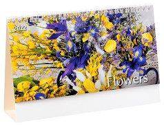 Настолен календар - Flowers 2022 -