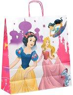 Хартиена подаръчна торбичка - Принцесите на Дисни -